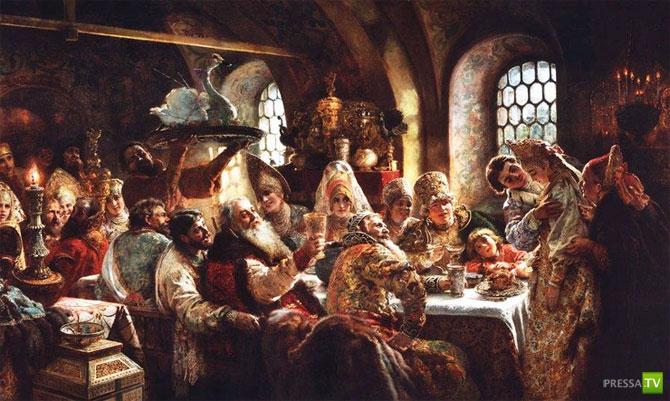 Алкоголь на Руси... Небольшой исторический экскурс (10 фото)