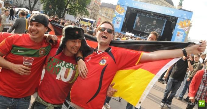 Европейским фанатам очень нравится Львов...