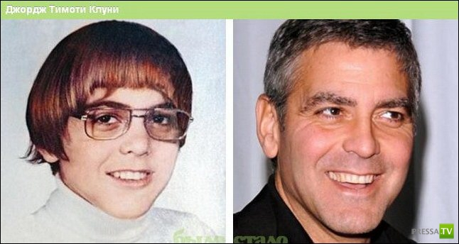 Со временем меняются все... и знаменитости тоже (22 фото)