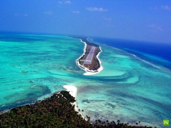 Остров-атолл Агатти (5 фото + 2 видео)