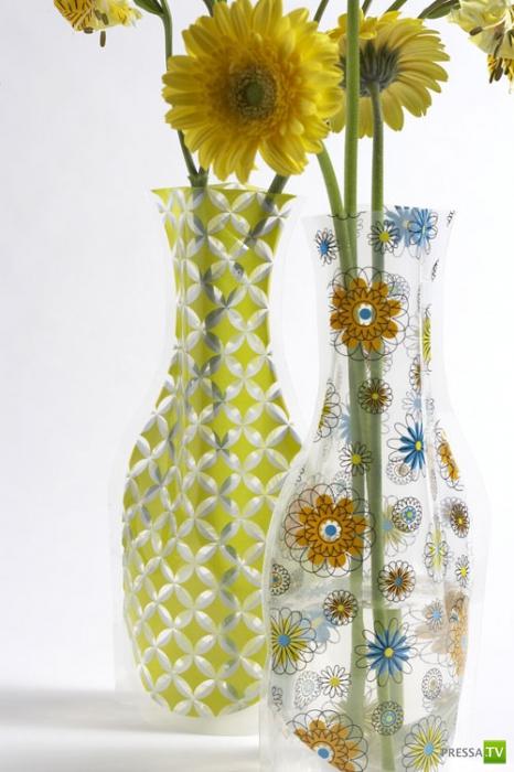Креативный цветочные вазы (8 фото)