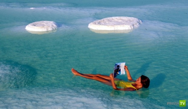 Откуда пошло название - Мертвое море (3 фото)