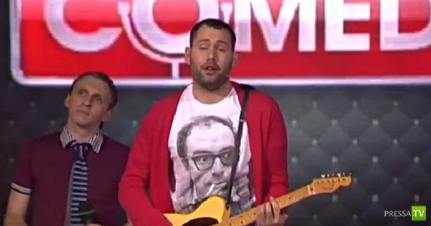 Семён Слепаков спел песню про Аршавина (Видео)