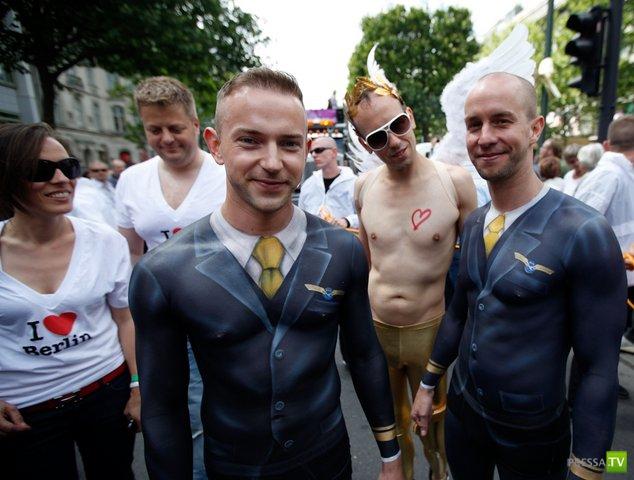 Гей-парад в Берлине (25 фото)