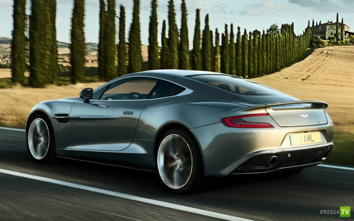 Новейший Aston Martin Vanquish (11 фото)