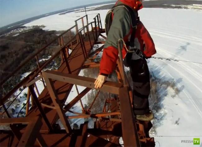 Парень прыгнул с высоты 150 м... парашют не раскрылся (фото + видео)