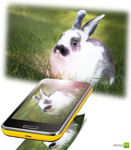 Телефоны недалекого будущего (5 фото)