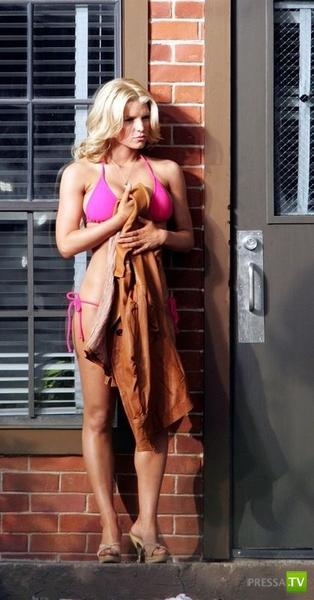 Джессика Симпсон ... изменилась (4 фото)