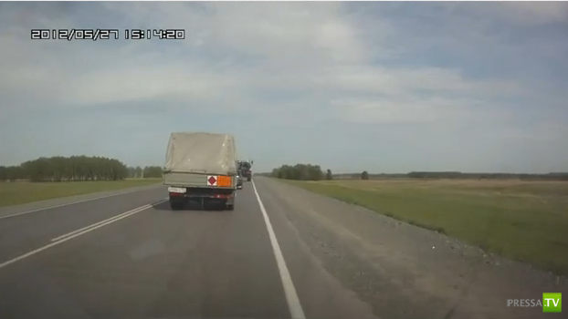 Неудачный обгон... ДТП под Барабинском (Новосибирская область)