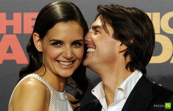 Том Круз и Кэти Холмс разводятся (4 фото)