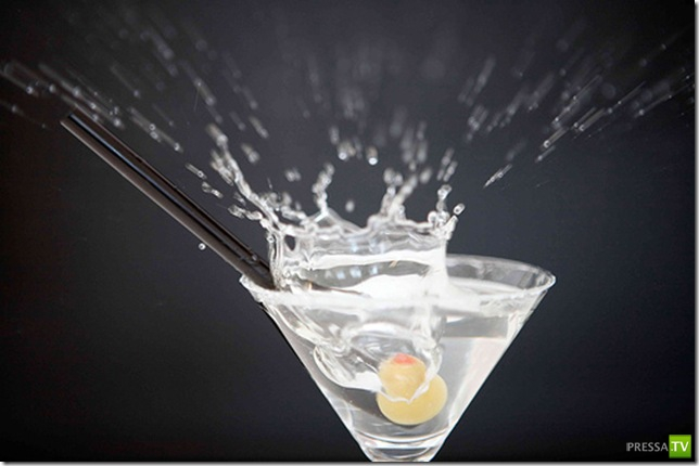 Популярные алкогольные коктейли (10 фото)