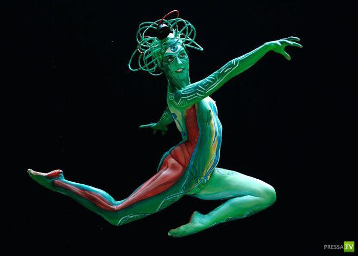 Международный фестиваль боди-арта в Австрии (16 фото)