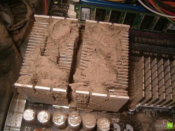 Не забывайте чистить системный блок (9 фото)