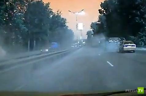 Автомобиль вылетел в кювет, есть пострадавшие... ДТП в Новосибирске