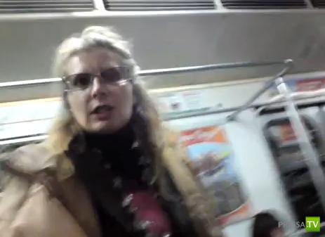 Злая тетка из Питерского метро...