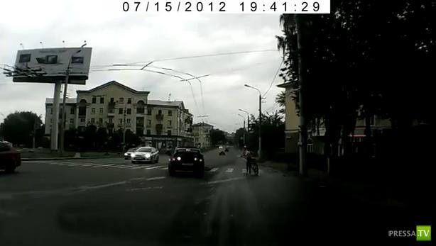 Наезд на велосипедиста... ДТП в Орле
