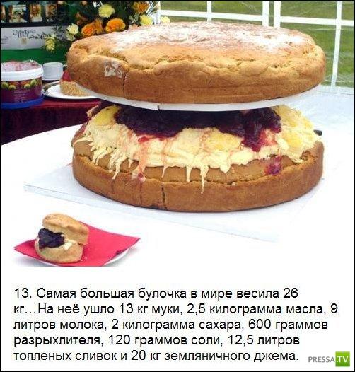 Гигантские блюда из Книги рекордов Гиннесса (25 фото)