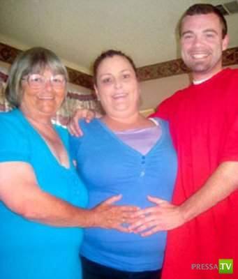 Внук влюбился в бабушку... Жесть! (3 фото)