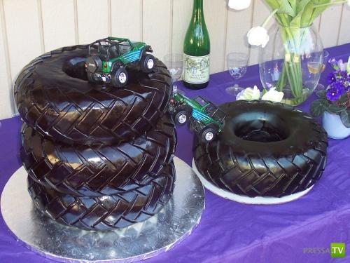 Самые невероятные тортики (46 фото)