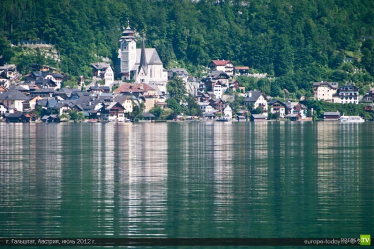 Австрийский Гальштат - город сказка (12 фото)