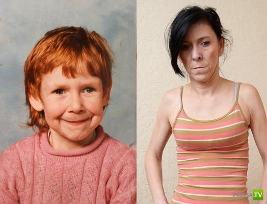 Девочка стареет с каждым днем... (3 фото)