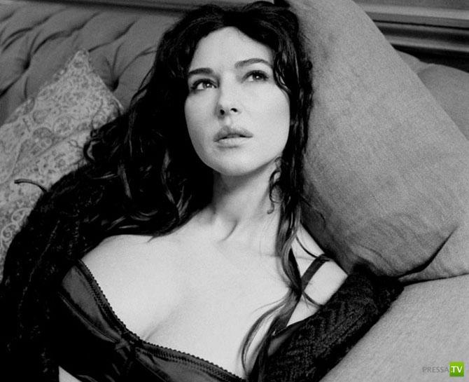 Моника Белуччи о красоте, женственности, кино и многом другом (29 фото)