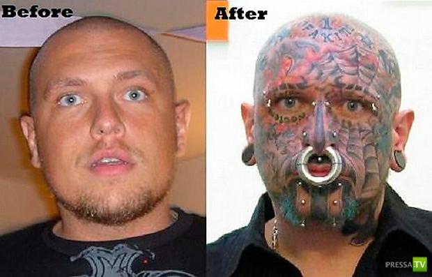 За 2,5 года человек изменился неузнаваемо... (11 фото)