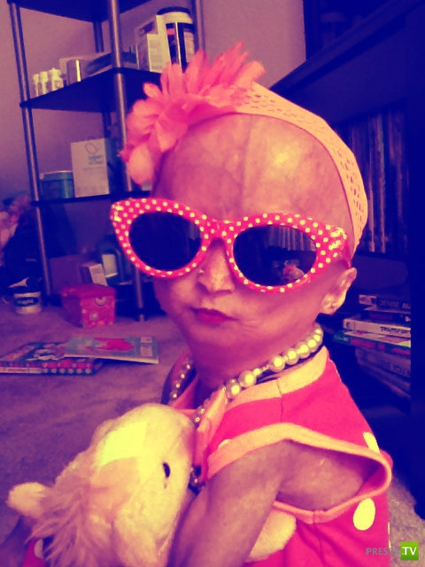 Адалия Роуз - звезда интернета по воле родителей (17 фото + видео)