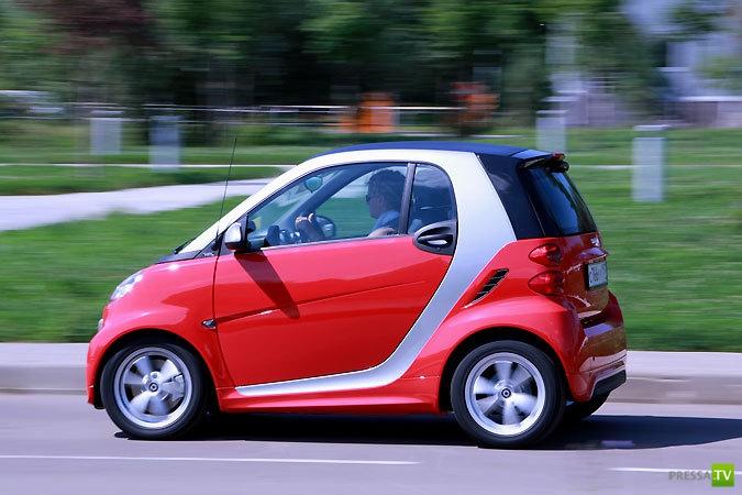 Автомобиль Smart Fortwo официально в России (4 фото)