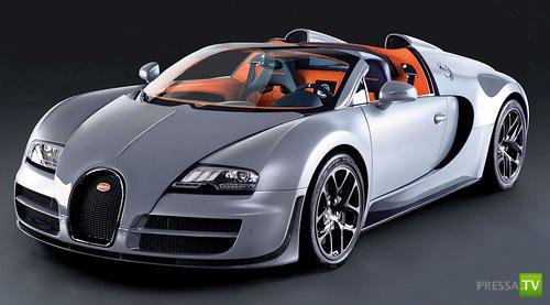 1200 лошадей под одним капотом - Bugatti Veyron