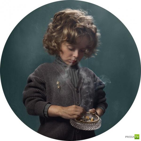 Необычная антиреклама курения (14 фото)