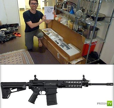 Заказал телевизор, а прислали полуавтоматическую винтовку