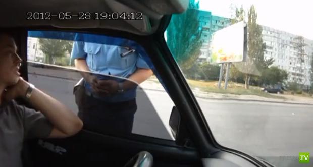 Общение с инспектором Илишо(Плахотнюк) в Днепропетровске...