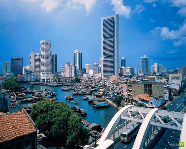 Странности Сингапура...