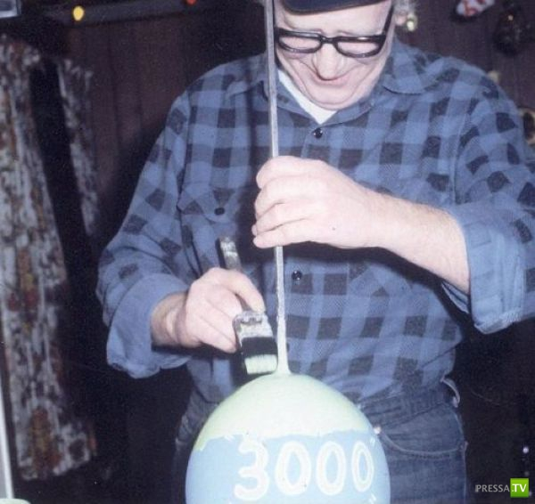 Необычное хобби Майкла Кармайкла (15 фото)