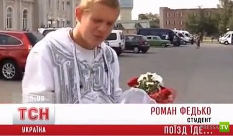 Студент принял роды в поезде Одесса - Харьков (видео)