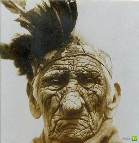 Индеец прожил 129 лет? (3 фото)