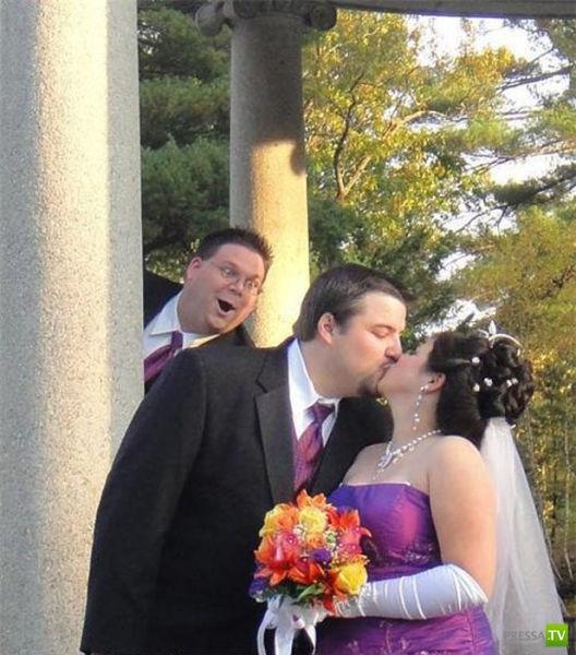 Свадебные фотобомбы (25 фото)