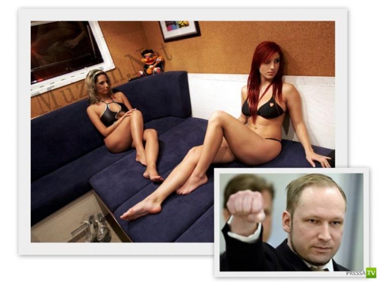 Андреасу Брейвику разрешили нанимать проституток