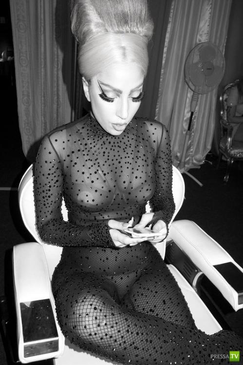 Леди Гага позирует Терри Ричардсону (9 фото)