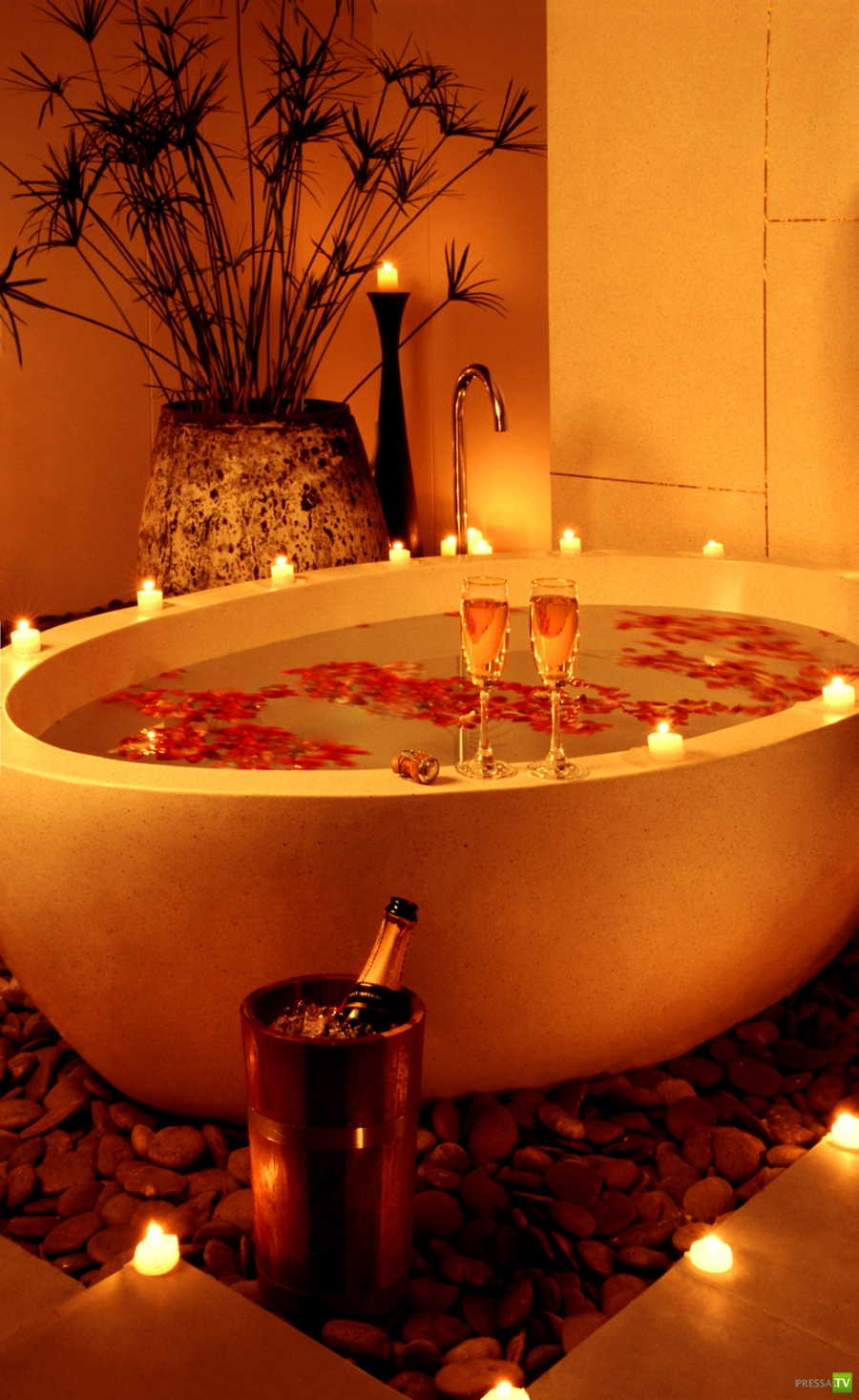 romantic bathtub ideas - 736×1201