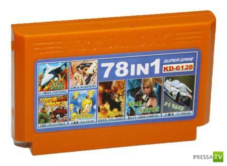 Сюрприз внутри картриджа от игровой приставки Денди (2 фото)