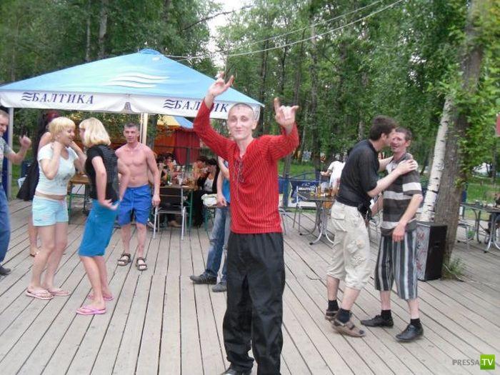 Отдых провинциальной молодежи в России (16 фото)