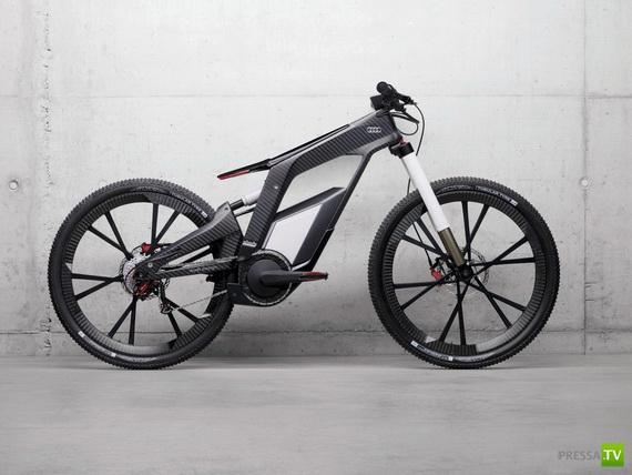 Эксклюзивный велосипед (6 фото)