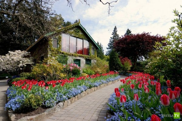 Цветочные Сады Бутчартов в Канаде (22 фото)