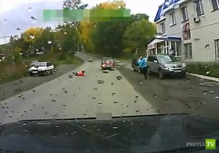 """Водитель """"Семерки"""" совершил наезд на 15-летнюю школьницу и скрылся... ДТП в Златоусте"""