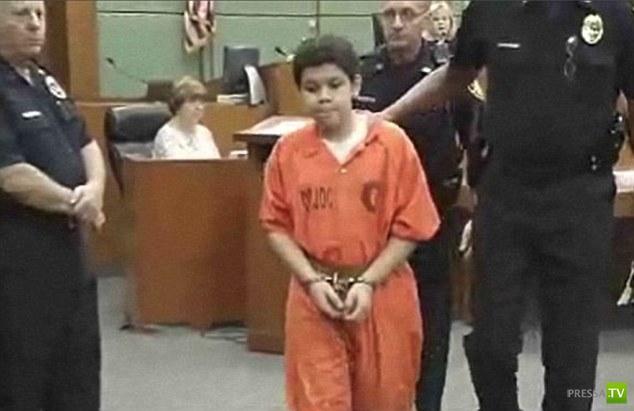 Пожизненное заключение для 13-летнего подростка (4 фото)