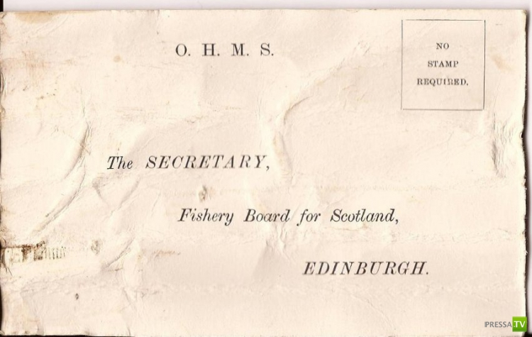 Шотландский моряк выловил самое старое послание в бутылке (4 фото)