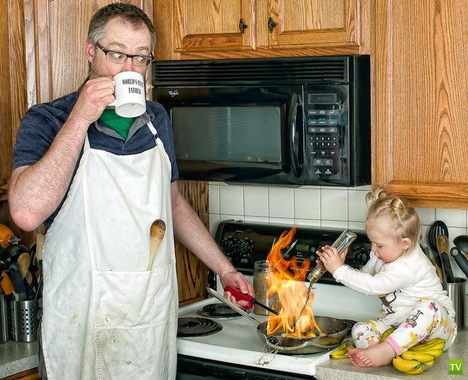 Dave Engledow - лучший папа в мире (32 фото)