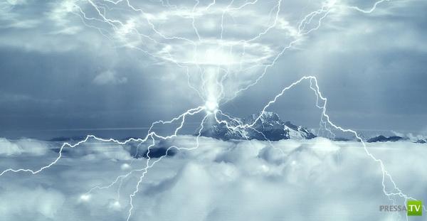 Галлюцинации, вызванные ударом молнии...